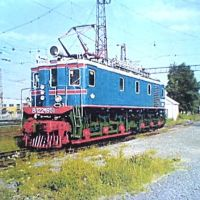 The last electrical lokomotive ВЛ 22м (VL22m) in Chusovoy depot, Чусовой