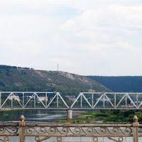 Вид с моста в городе Чусовой, Чусовой