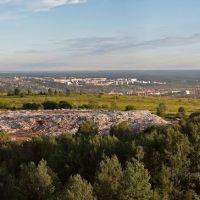 """Вид на Новый город с """"жучкиной ямы"""", Чусовой"""