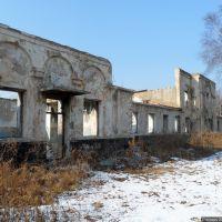 Здание бывшего банно-прачечного комбината, Фокино