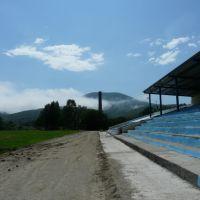 Стадион Восход, июль 2008, Фокино
