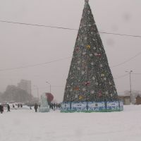 Встречаем  2008 год, Владивосток