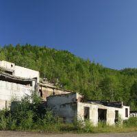Высокогорск, развалины горно обогатительной фабрики, Высокогорск