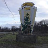 Стелла при въезде в село Чугуевка., Горный
