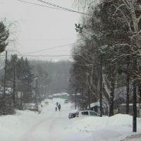 Solnechny (Sunny) in the winter, Горный