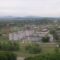 г. Лесозаводск, гарнизон. вид с ТВ-ретранслятора (60м.), Горный