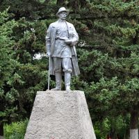 Monument to Maxim Gorky, Горный