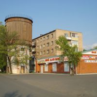 Водонапорная башня на ул.Уссурийской, Дальнереченск