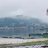 Зарубино,порт и база флота, Зарубино