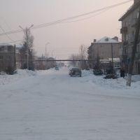 Камень-Рыболов, ул. Кирова - декабрь 2010, Камень-Рыболов