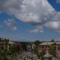 Вид с виадука на центр, Кировский