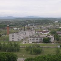 г. Лесозаводск, гарнизон. вид с ТВ-ретранслятора (60м.), Кировский