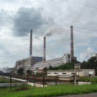 Primorskaya thermal power station, Лучегорск