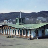 Russia, Nakhodka, spring 1976. The old marine station., Находка