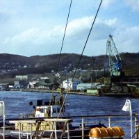 Nakhodka, Russia, spring 1976. The passenger port., Находка