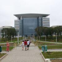 Студенческий центр, ДВФУ, август 2013 (с территории), Русский