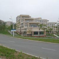 Гостиничный комплекс, Корпус №1, кампус ДВФУ, август 2013, Русский