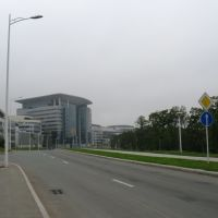 Студенческий центр, кампус ДВФУ, Русский
