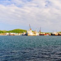 Порт в Славянке, Славянка