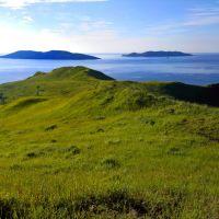 Вид на острова, Славянка