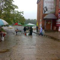 Near a Chinese hotel, Славянка