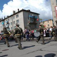 Парад 9 мая, Спасск-Дальний