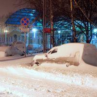 Снегопад, Уссурийск