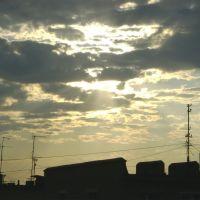 вечернее солнце, Уссурийск