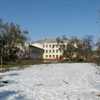 24 школа внутренний двор, Уссурийск