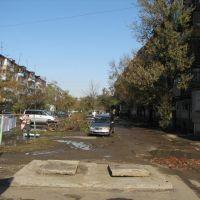 Дворы Ленинградской д45б 45в, Уссурийск
