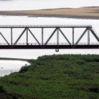 Мост через р. Туманная, Хасан