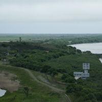 中朝露3か国の国境   防川展望台より, Хасан