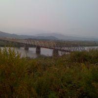 Хасан, мост в северную корею снимок с нашей стороны, Хасан