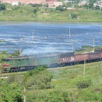 Khasan: Grenzbahnhof nach Nordkorea, Хасан