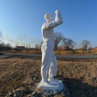 Скульптура авиатора, с.Хороль, Хороль