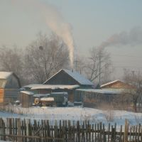 Зимнее утро в Чугуевке, Чугуевка