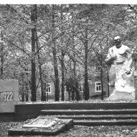 Памятник партизанам, парк в центре с.Чугуевка, 1981 год, Чугуевка