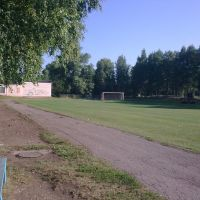 stadium village Bezhanitsy, Бежаницы