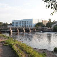 Великие Луки. Плотина на реке Ловать. The dam on the river Lovat, Великие Луки