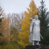 Automn monument, Дедовичи