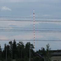 Дедовичи. Радиовышка. 102,5 MHz Дорожное радио, Дедовичи