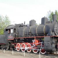 Паматник-паровоз Эм 728-23, Дно