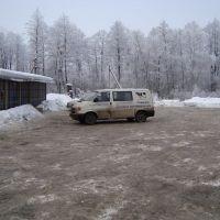 14-01-2010, Saint Petersburg - Vitibsk road. 600 km. Coffee stop., Заплюсье