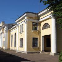 Вокзал ст. Новосокольники. Московская сторона, Новосокольники