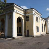 Новосокольники. Вокзал. Novosokolniki. Railway station, Новосокольники