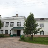 Опочка. Школа №4. Opochka. School number 4, Опочка