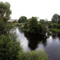 Опочка. Река Великая. Great River, Опочка