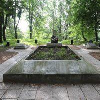 Опочка. Памятник в память о ВОВ. Monument in memory the Great Patriotic War, Опочка