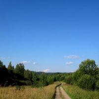 По дороге в д.Жуково, 2012г., Остров