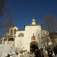 The gate of the church of St. Nicholas, Печоры
